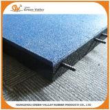 Le bord en caoutchouc pour le caoutchouc de sûreté de cour de jeu couvre de tuiles l'étage de couvre-tapis