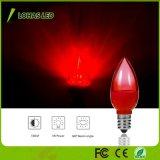 Non-Dimmable C7 E12 LED rote Nachtlichter der Glühlampe-1W LED für Weihnachten