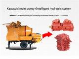 混合する移動式コンクリート建設プロジェクトのためのポンプ機械装置を渡す