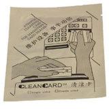 Cartão de limpeza