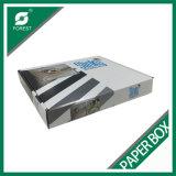 광택 있는 인쇄를 가진 백색 물결 모양 상자