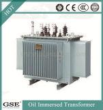 transformateur extérieur immergé dans l'huile de distribution du bloc d'alimentation 500kVA