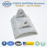Customzied 6.063-T5 extrusão de perfis de alumínio para o dissipador de calor com usinagem CNC