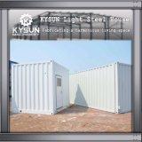 Camera modulare d'acciaio personalizzata installazione veloce dell'indicatore luminoso della struttura d'acciaio per la villa
