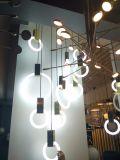 Lampadario a bracci Pendant di nuovo disegno moderno che illumina figura rotonda