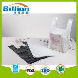 En PEHD blanc T-Shirt Sac sac sac en plastique de l'épicerie sac