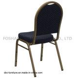호텔 가구 돔 해군에 의하여 모방되는 직물과 형 거품을%s 가진 뒤 겹쳐 쌓이는 연회 의자