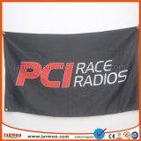 3X5FT fliegende Polyester-Bildschirmanzeige-Markierungsfahne mit Öse