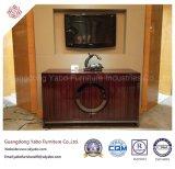Empfindliche Hotel-Möbel mit Wohnzimmer poliertem Fernsehapparat-Standplatz (YB-D-28)