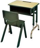 최신 작풍 벤치 교실 가구를 가진 나무로 되는 단 하나 학교 책상