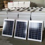 Poli lista di prezzi 5W della pila solare