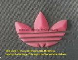 En trois dimensions (3d) l'étiquette de transfert de chaleur Plaque en silicone pour accessoires