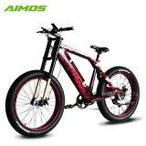 La double fourche de suspension a engrené le vélo électrique de 48V 1000W avec le PAS