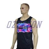 La conception personnalisée femmes maillots de corps Salle de Gym Fitness respirant maillots de corps (SL027)