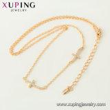 44518의 중국 도매 Xuping 특가 18K Gold-Plated 남자의 목걸이