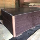 La película Shuttering de /Poplar del encofrado de /Marine/WBP/Concrete hizo frente a la madera contrachapada
