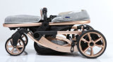 Neuer Entwurfs-europäischer Luxuxfalten-Baby-Kinderwagen mit Cer