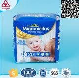 Couche-culotte absorbante superbe extérieure sèche de bébé de faisceau avec le prix bon marché
