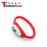 Il braccialetto passivo personalizzato di RFID, Wristband caldo del silicone RFID di vendita/braccialetto, NFC impermeabilizza il Wristband - Red+White