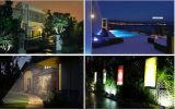 reflector al aire libre de 50W RGB LED con el color que cambia luces impermeables de la seguridad