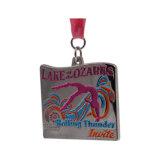 卸し売り金または銀の金属のカスタムマラソンメダル