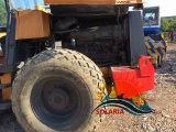 máquinas de construção utilizados DYNAPAC CA251d para a promoção do Rolete de Estrada