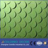 100 % écologique en fibre de polyester Panneau acoustique 3D PET