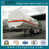 半中国3の車軸40000L燃料のタンカーオイルのディーゼル輸送タンクトレーラー