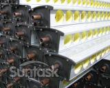 Une grande efficacité haute puissance de sortie collecteur solaire thermique