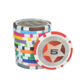 10g習慣Eptの陶磁器の火かき棒はポーカー用のチップを主演する