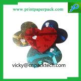 낭만주의 결혼 선물 상자 Heartshaped 사탕 초콜렛 보석 수송용 포장 상자