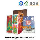 De bonne qualité de papier kraft brun sac pour le charbon de bois de l'emballage