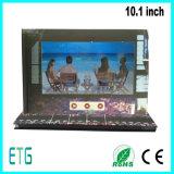 Folheto personalizado do vídeo do LCD 10.1inch da impressão