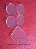 Трещины преступности R5 силикатное стекло пластины с Угловая