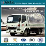 Sinotruk HOWOの概要の輸送のための小さい貨物積載力の軽い貨物トラック