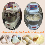 Misturador de massa de pão espiral de mistura dobro da velocidade para a loja do cozimento