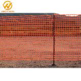 Frontière de sécurité en plastique orange de glissière de sécurité de taille faite sur commande
