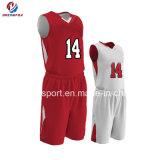 Uniformes de basket-ball de coutume du Jersey de basket-ball d'hommes de sublimation de vêtements de sport les plus défunts vendent en gros