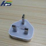 Caricatore doppio dell'universale del caricatore di corsa del USB della spina BRITANNICA di Pin del Portable 3