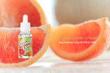 Qualidade superior do rótulo personalizado 10ml de cigarros Electrónicos e sabor de suco de Pomelo LÍQUIDO E