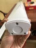 T8 T5 IP65 36W 세 배 증거 LED 고정편 빛 90lm/W 3years 보장 Favtory 관
