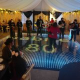 Acheter Pista de magnétique numérique DEL couvrant les panneaux de plancher de danse de voitures