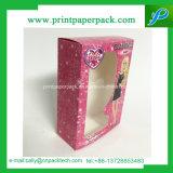 Caja de embalaje de regalo Perfume Ver Perfume cremas faciales cosméticos rígido de cartón de embalaje