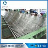 Tubo de acero inoxidable calidad 304 316 Superficie para Intercambiador de calor