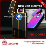 Лихтер металла дуги верхнего качества электронный двойной порученный USB
