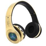 Auriculares sem fio do auscultadores da música de Stn-19 Bluetooth com o cartão do diodo emissor de luz TF