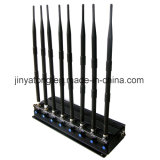 調節可能な8アンテナ携帯電話2.4G 5.8g/5.2g WiFiのシグナルのブロッカー