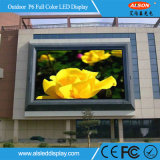 스크린 모듈을 광고하는 풀 컬러 옥외 P6 LED