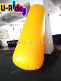 Желтый 2,5 м высота надувной Буй маркера качания