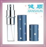 Garrafa de spray de atomizador de perfume de alumínio com decoração de diamante